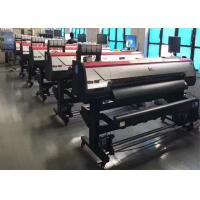 Quality High Speed Roll To Roll Large Format Printing Machine 1600m With Double DX5 Print Heads wholesale