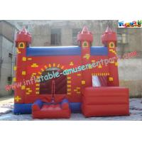 Quality Durable Inflatable Bouncer Slide , Fun PVC Tarpaulin Combo Jumpers For Toddlers Playing wholesale