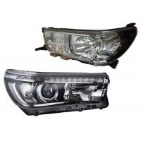 Quality OE Style Spare Parts For Toyota Hilux 2015 Revo Head Lamp Assy Halogen and LED Light wholesale