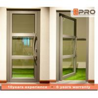 Quality Single Pane Internal Aluminium Glass Doors For Residential House Color Optional wholesale