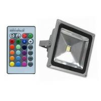 China 120mm 20W RGB LED Flood Light Waterproof Remote Control For Subway ROHS CE on sale
