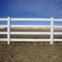 Quality PVC horse fence, 2, 3 and 4 rails are available, UV-resistant and flexible wholesale