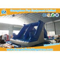 China Double Slide Way Commercial Inflatable Slide Rental Bouncer Slide PVC Tarppaulin on sale