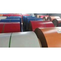 Quality YK Red Prepainted Steel Coil Galvanized Steel Sheet Coil TCT 0.25 X 914mm G550 wholesale
