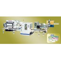 China  Approved Box-Packing Facial Tissue Paper Machine on sale