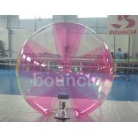 Quality 0.7mm TPU Inflatable Water Walking Ball With Soft Handle For Water Games wholesale
