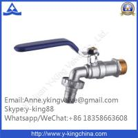 Quality Forged Brass Ball Bibcock with Steel Handle wholesale