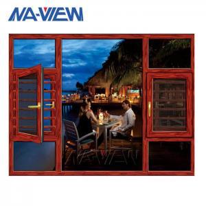 China Factory Price Aluminum Frame Casement Double Glazed Windows on sale