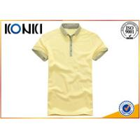 Quality Knitted Technics Boys Short Sleeve Button Down Polo Shirts For Summer wholesale