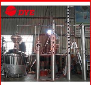 Quality 500L Copper Distillation Column Distillery Equipment Vodka Distillery wholesale