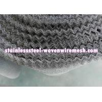 """Quality Crimped Stainless Steel Knitted Mesh Width 30"""" / 42 Inch Wear - Resistance For Oil - Gas Separation wholesale"""