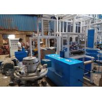 China PVC Shrink Film Making Machine , PP Blowing Machine With Heating Pipes Inside on sale
