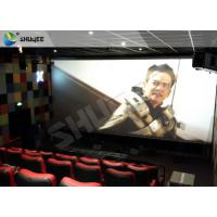 Quality Professional 4DM Cinema Equipemnt With Electric Motion Chair , 4 Seats / Set wholesale
