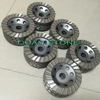 Quality Ripple Cup Wheel Diamond Cup Wheel Aluminum Back Resin For Polishing wholesale