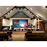China High Definition 3.9mm Church LED Screen Slim Large LED Display indoor Solution on sale