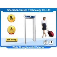 Quality Single Zone Archway Metal Detector 0 - 99 Sensitivity Level With Sound & LED Alarm wholesale