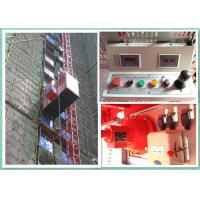 Quality Personnel And Materials Rack And Pinion Lift Equipment Overload Protection wholesale
