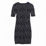 Quality Short-sleeved Jacquade Dress wholesale