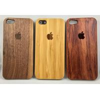 Quality Real Nature wood Case for iPhone 5 5S 6 6s 6Plus 7 Walnut Bamboo rosewood wholesale
