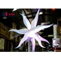 Cheap Decoration Near Me Inflatable Led Star For Event Decoration , Ripstop Nylon for sale