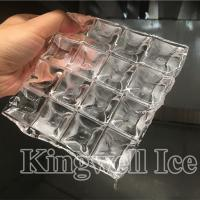 China Kingwell industrial clear ice cube making machine price 5,000 kg/day on sale