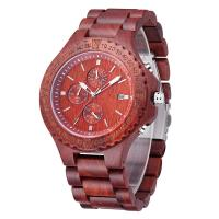 Quality Simple Design Dial Wooden Wrist Watch With Easy And Convenient Deal wholesale
