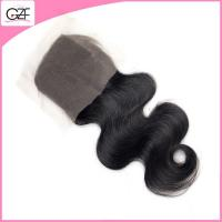 Quality Cheap Price Top Lace Closure Body Wave Natural Color 4x4 Free Parting Lace Closure wholesale