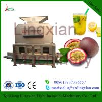 Quality High Quality Passion Fruit Juice Extractor Machine with Low Price wholesale