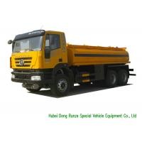 Quality IVECO Chassis Liquid Tank Truck For Gasoline / Petrol /Diesel Delivery 22000L wholesale