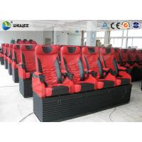 Quality Mobile 5D Cinema Simulator With 3DOF Motion Chair With 4 Seats Per Set wholesale