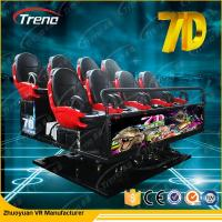 Professional Large 7D Cinema 3 dof Electric Platform Cinema With Special Effect