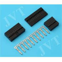 Quality PA66 Female Pin Dupont Jumper Connector , 2.54 Mm Pitch Connector Daul Row Type wholesale