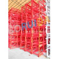 Cheap Floor / Sliding Door Construction Material Lifting Hoist Single Or Double Cages for sale