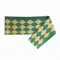 China Restore ancient ways knitted scarves, made of 100% acrylic on sale