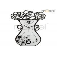 Quality Novelty Digital Wall Sticker Clock , Personalized Art Deco Wall Clock For Office wholesale