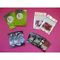 Quality OEM Customized Herbal Incense Plastic Pouches Packaging with Zip Lock wholesale