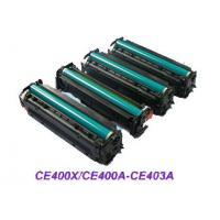 China Color C/M/Y/K HP Color LaserJet Toner Cartridges CE400A, CE401A, CE402A, CE403 for HP 500 on sale