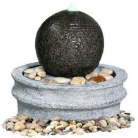 Quality Marble Ball Outdoor Sphere Water Fountains Outdoor / Indoor Sphere Garden Fountain wholesale