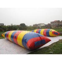 Quality Big Colorful Inflatable Water Launch , Water Blob For Water Tower wholesale