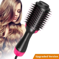 China 1000W Hot Air Dryer Ionic Hair Brush For Hair Straightening on sale