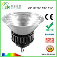 Quality Energy Saving 100 Watt Led High Bay Light For Commercial Lighting , 100-120LM/W Efficiency wholesale