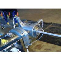 China Braided Automatic PVC Pipe Cutting Machine / Fiber Reinforced PVC Hose Making Machine on sale