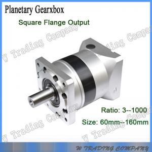 China 120-3 series small backlash planetary gear box for servo motors cnc machines on sale