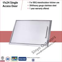 Quality Stainless built-in bbq island 17x24 single access door wholesale