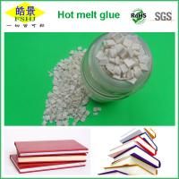 Quality Rubber Polyester Hot Melt Glue For PVC Edge Banding , Bookbinding Adhesive No Drawing wholesale