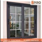 Quality Customized Double Glazed Aluminium Sliding Windows For House Project Energy Saving wholesale