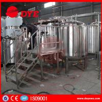 Quality Custom Homebrew Equipment Beer Brewing Systems High Efficient wholesale