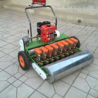 China Fertilizing corn soy planter Corn planter seeder six rows with tractor motor/Six row vegetable seeder planter with gas p on sale