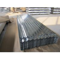 Quality SGCC, G550, JIS G3302 steel Regular Spangle Galvanized Corrugated Roofing Sheet / Sheets wholesale