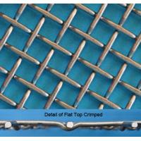 Quality Stainless Steel Flat Top Crimped Wire Mesh, 4-60mm Opening, 1.6-5mm Wire wholesale